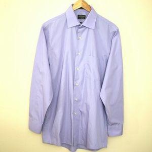 Men's Lavender Purple Dress Shirt M